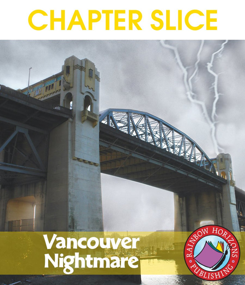 Vancouver Nightmare (Novel Study) - CHAPTER SLICE