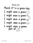 Rebus Chants Volume 1: For All Seasons: March 17th - St. Patrick's Day - WORKSHEET