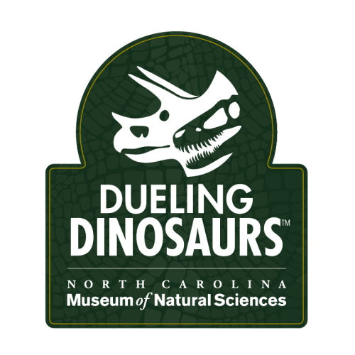 Dueling Dinosaurs Magnet