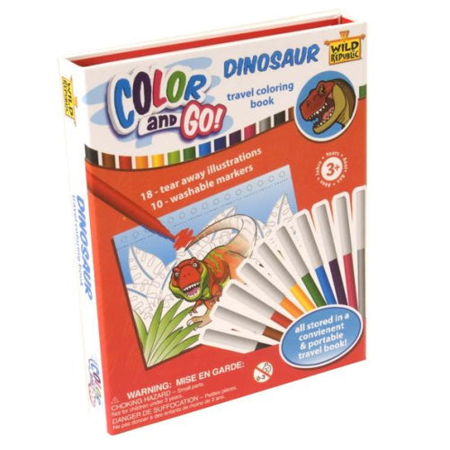 Dinosaur Color and Go