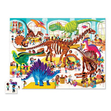 Load image into Gallery viewer, Dinosaur Day at the Museum Puzzle - 48 Pieces