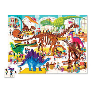 Dinosaur Day at the Museum Puzzle (48 Pieces)