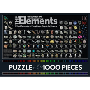 Elements Puzzle (1000 Pieces)