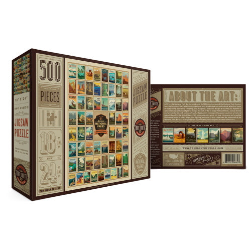 National Parks Puzzle - 500 Pieces