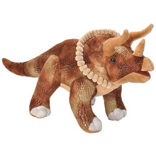 Load image into Gallery viewer, Triceratops Plush 17 inches