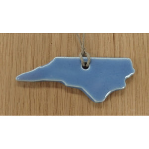 North Carolina Ceramic Ornament (Assorted colors) - Sara Roberts