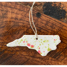 Load image into Gallery viewer, North Carolina Ceramic Ornament (Assorted colors) - Sara Roberts