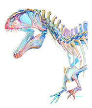 Load image into Gallery viewer, Acrocanthosaurus Print - Stacy Lewis