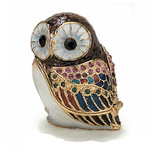 Load image into Gallery viewer, Owl Trinket Box