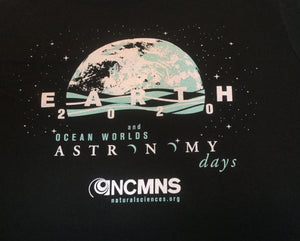 Vintage Black Astronomy Days Shirt (Adults and Kids)