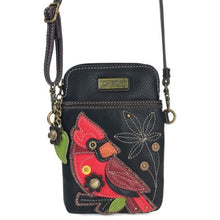 Load image into Gallery viewer, Cardinal Cell Phone Crossbody Bag