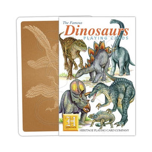 Dinosaurs Playing Cards