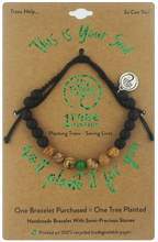 Load image into Gallery viewer, Evergreen Tree Planting Bracelet