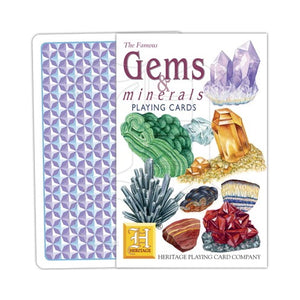 Gems and Minerals Playing Cards
