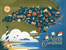 Load image into Gallery viewer, North Carolina Puzzle (500 Pieces)