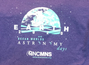 Vintage Purple Astronomy Days Shirt (Adults and Kids)