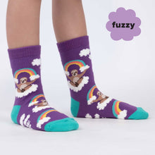 Load image into Gallery viewer, Sloth Dreams Youth Crew Socks