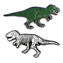 Load image into Gallery viewer, T-Rex Now and Then Pin Set