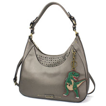 Load image into Gallery viewer, T-Rex Sweet Tote Pewter