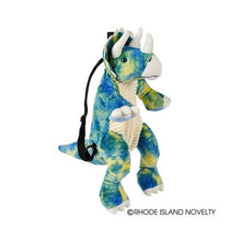 Load image into Gallery viewer, Triceratops Plush Backpack