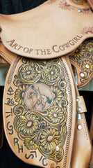 Art of the Cowgirl Saddle
