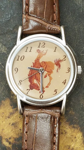 Old West Bronc Watch
