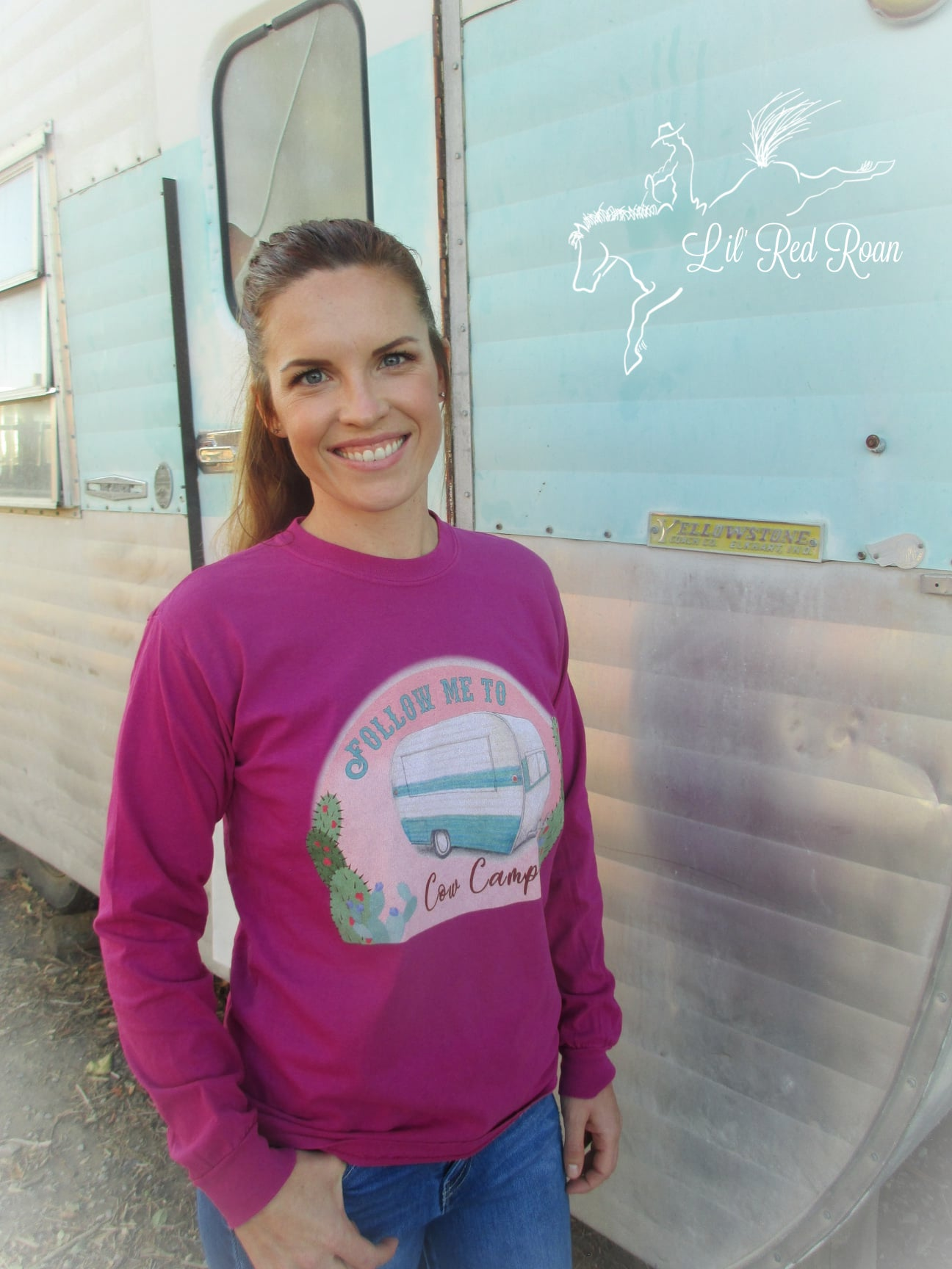 Follow Me to Cow Camp ~  Long sleeve T - Boynsberry