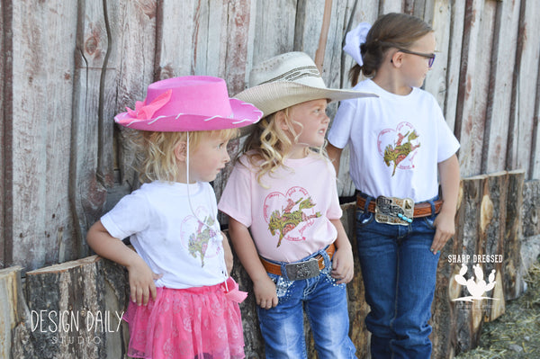 Beautiful Cowgirl Tee- Girl