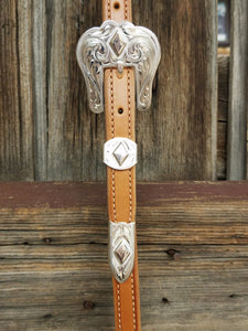 Polished Diamond Headstall