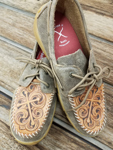Twisted X Two-lace Boat Shoes