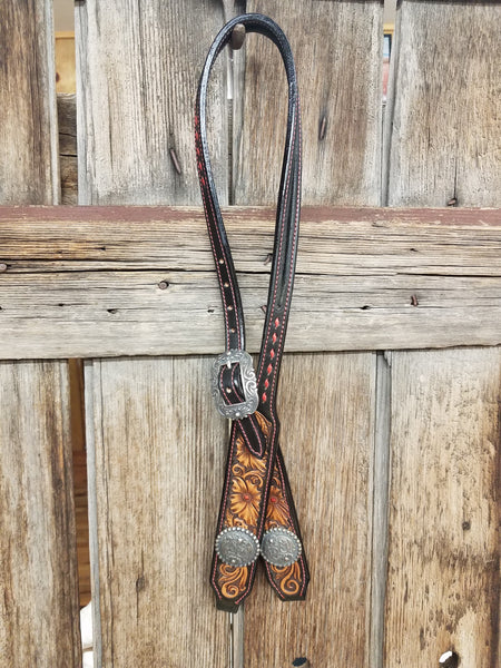 Wild Rose Headstall