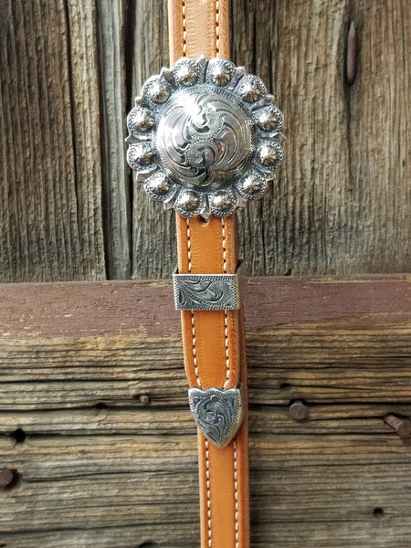 Antique Yuma Berry Concho Headstall