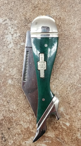 Lovely Lady Knife- Dark Green