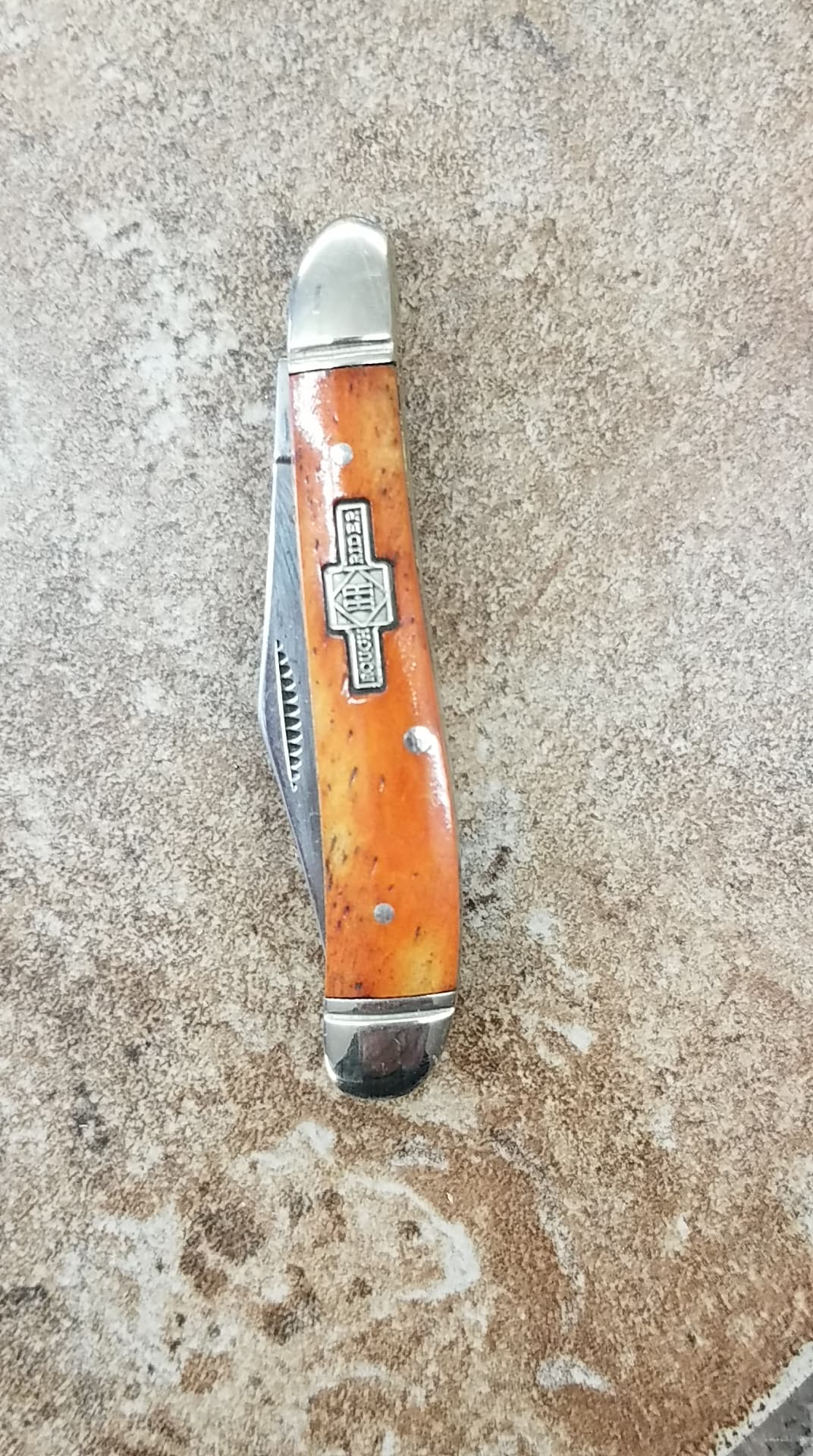 MINI TRAPPER KNIVES - Orange Crush
