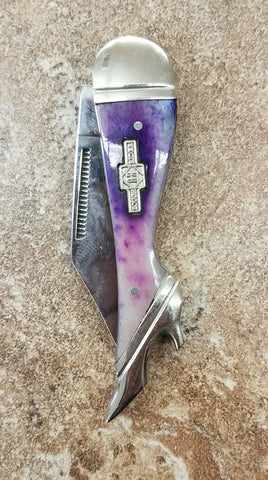Lovely Lady Knife- Purple