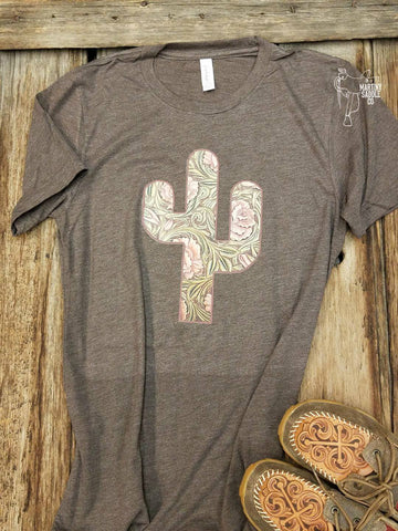 Desert Rose Tee Brown