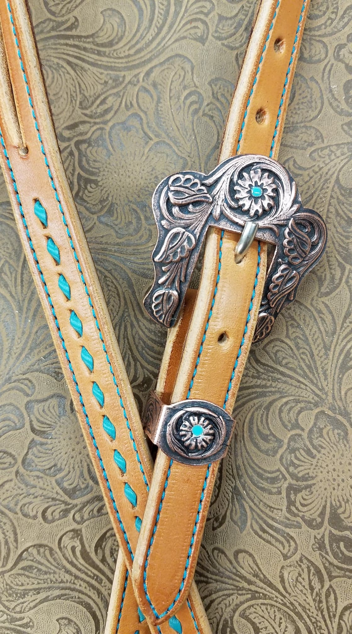 The Copper Queen Headstall