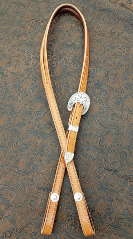 Yuma Berry Silver Plate Headstall