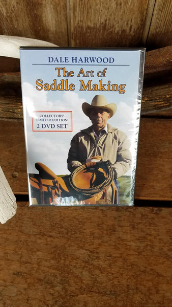 Dale Harwood Saddle Making DVD