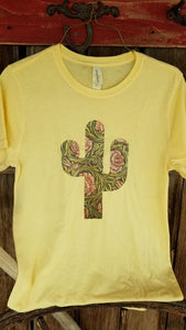 Desert Rose Tee Yellow