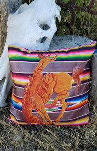 Serape Sunsets Pillow
