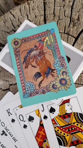 Desert Dreams Playing Cards