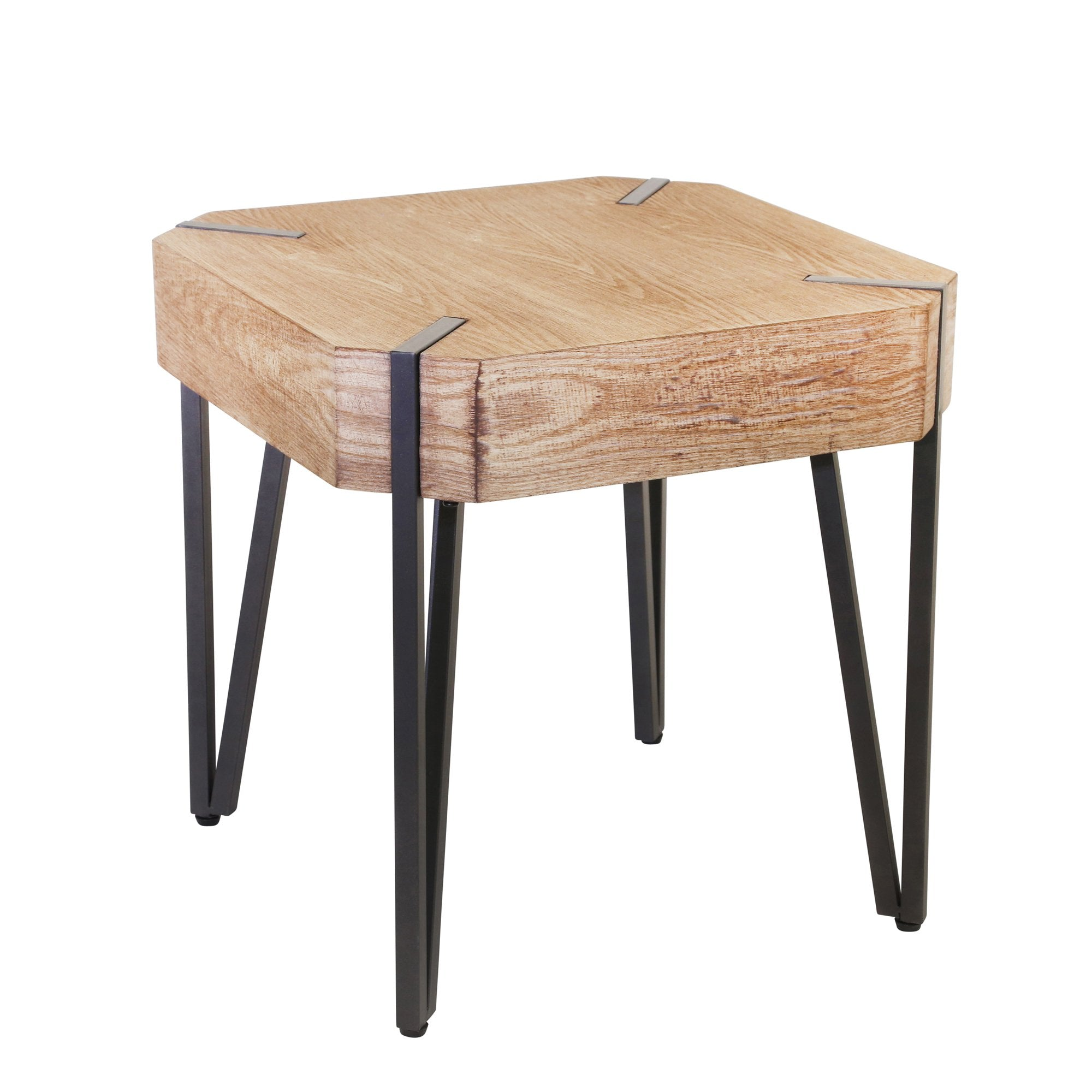 Rustic Wooden Side Table - Shop Table - DARRA HOME
