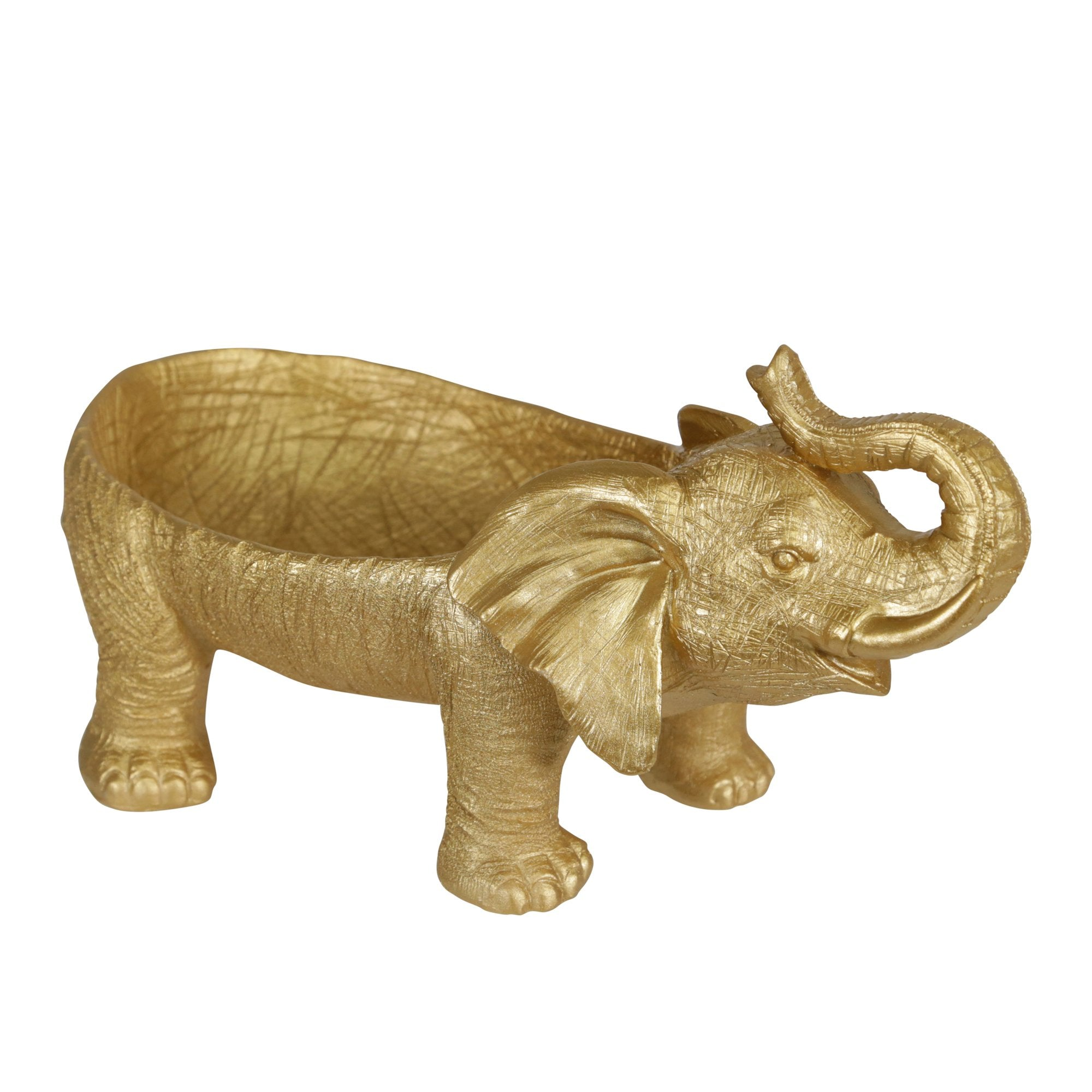 Gold Elephant Tray - DARRA HOME