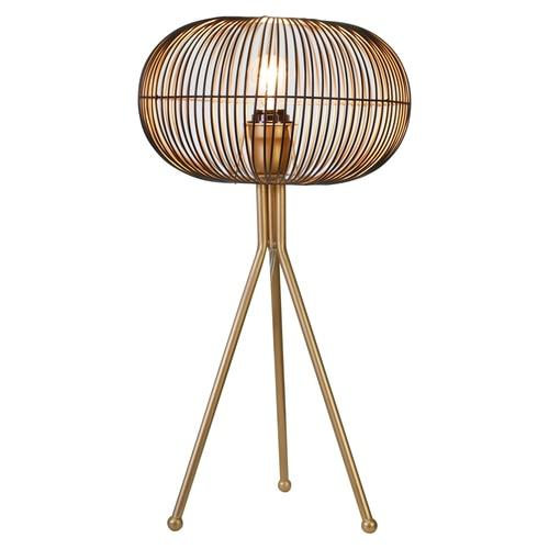 Gold Sphere Table Lamp - DARRA HOME