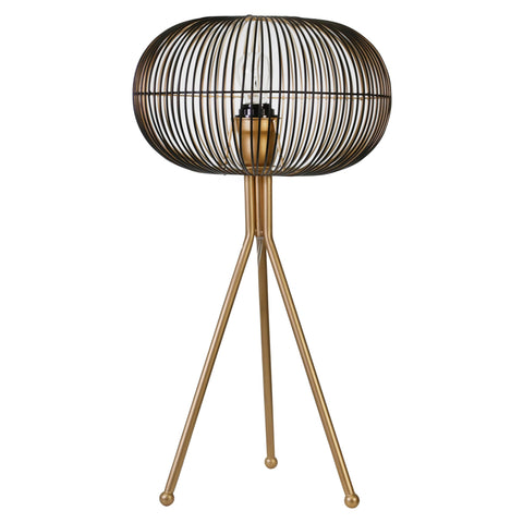 Gold Sphere Table Lamp - Shop Lamp - DARRA HOME