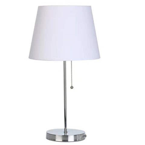 Silver Table Lamp - Shop Lamp - DARRA HOME