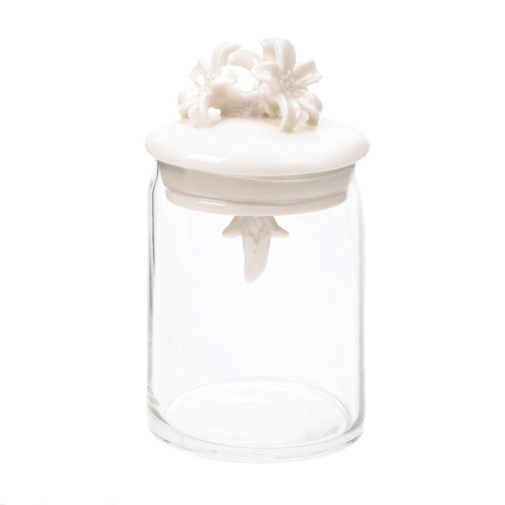 Flower Top Jar - Shop Jar - DARRA HOME