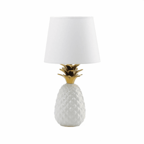 Gold Topped Pineapple Lamp - Shop Lamp - DARRA HOME