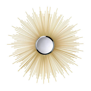Golden Rays Sunburst Mirror - DARRA HOME